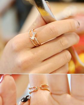 Jay Ribbon Ring (rg298)