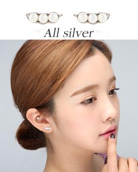 Pearl beads earring (er827)