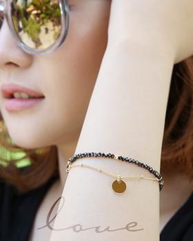 Eleven o'clock bracelet (br487)
