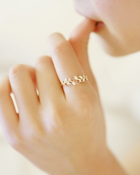 Leaves Ring (rg241)