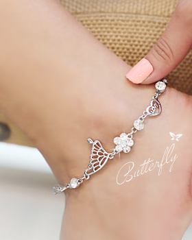 Non butterfly anklets (ak018)
