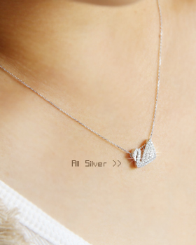Swan Lake Necklace (nk216)