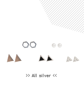* Shaped gonghyo earring (er621)