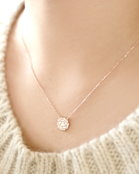 Going Rose Necklace (nk272)