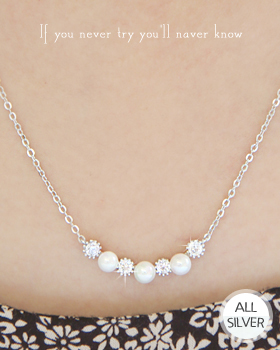 Flock Roll Necklace (nk249)