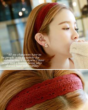 Syungsyung knit hairband (hb335)