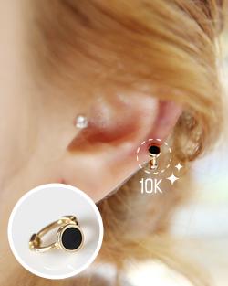 Black Jewel earring (er1231)