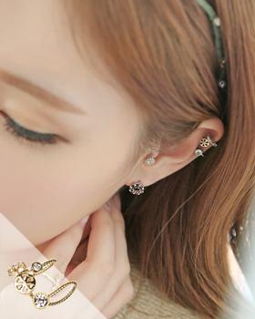 Blown earring (er175)