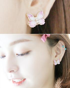 Com butterfly earring (er492)