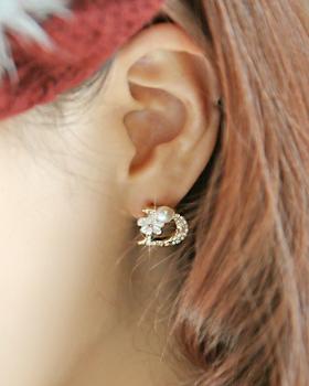 FlowerD earring (er093)