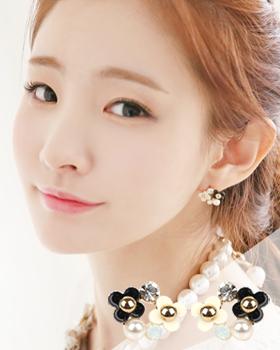 Pine flower earring (er305)