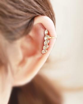 Story circle earring (er125)