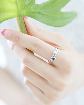 Points Cubic Ring (rg129)