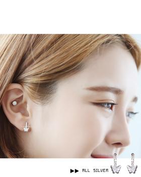 Butterfly earring (er542)