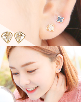 Treasure Island earring (er339)