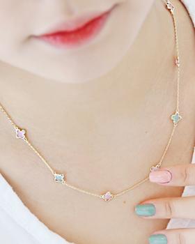 Pastel Event Necklace (nk046)