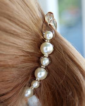 Fondant pearl hairpins (hp340)