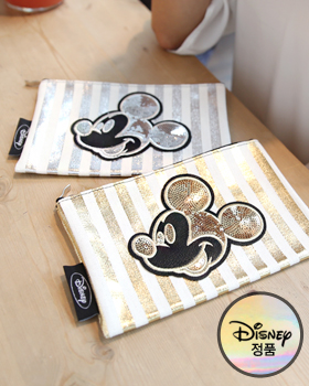 Gold & Silver Mickey Pouch (ot141)