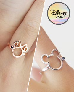 Te tturi Mickey Minnie Ring (rg360)