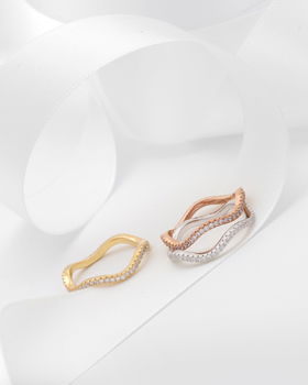 Waves rolling Ring (rg253)