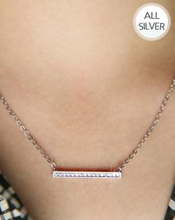 WidthBAR Necklace (nk469)