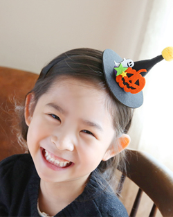Halloween Pumpkin hairband (hb104)