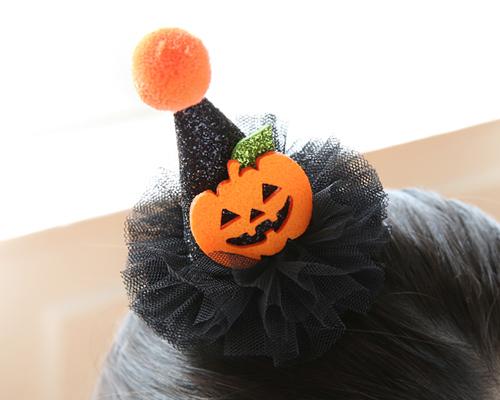 Happy Halloween Hairpin (hp150)