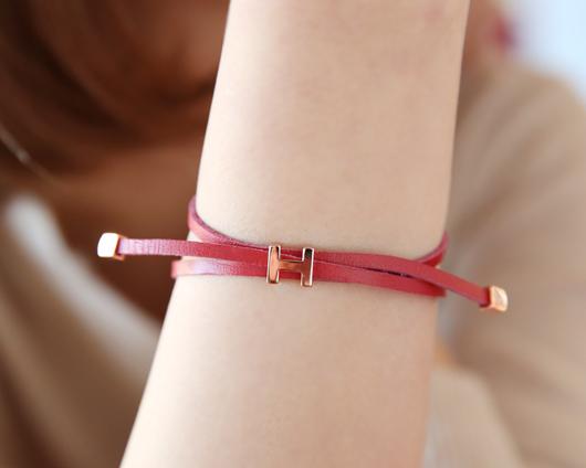 HCowhide bracelet (br572)