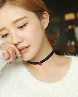 Min Hari villainess Choker Necklace (nk482)