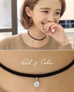 Never basic Choker Necklace (nk478)