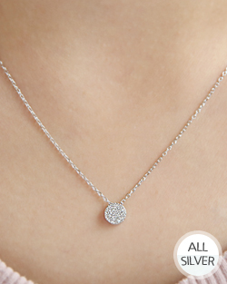 Quiet Round Necklace (nk475)