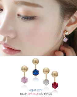 The city at night earring (er1456)