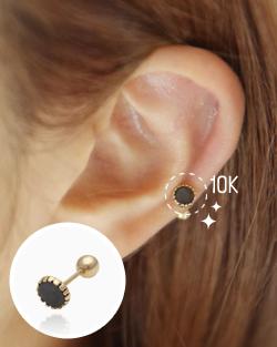 Piercing 10k Binz (er1435)
