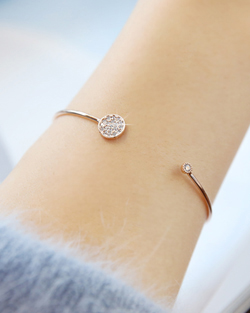 Marie Anne simple wire bracelet (br544)