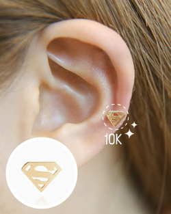 Piercing 10k Superman (er1440)