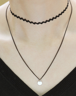Wave Choker Necklace (nk508)