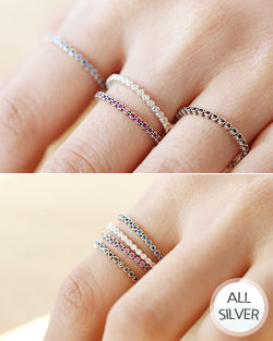 Small ttokttokttok Ring (rg436)