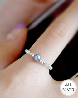 Pearls are Elastic Ring (rg457)