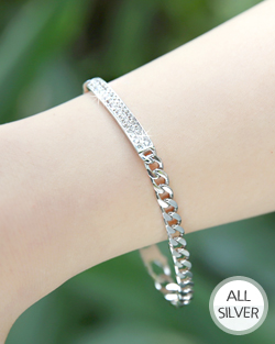 Silver Cubic high-end bracelet (br564)