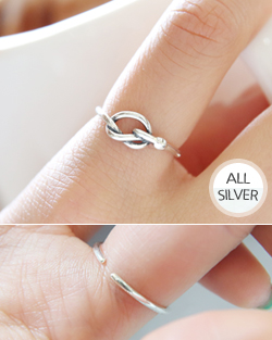 Twist knot Ring (rg458)