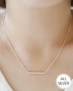 Saw transverse Necklace (nk513)