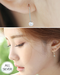 cubicU turn earring (er1531)
