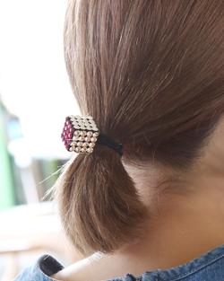 Swarovski stones hair strap (hs292)