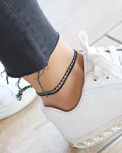 Do not drink knot adjustable anklets (ak076)