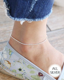 Basic dog tags are anklet (ak068)