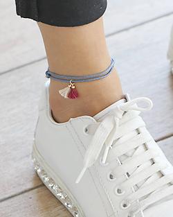 My tassel anklets (ak079)