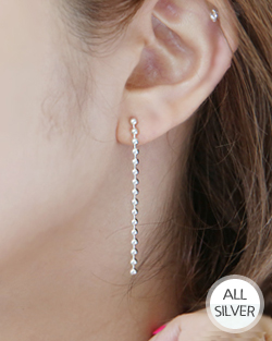 Warlords line drop earring (er1528)
