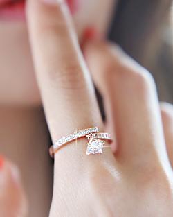 Happy Needle Ring (rg332)