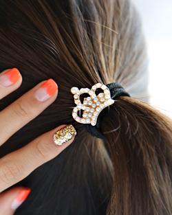 Pearl Crown Hair strap (hs229)