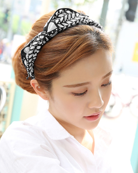 Dot leaf hairband (hb390)